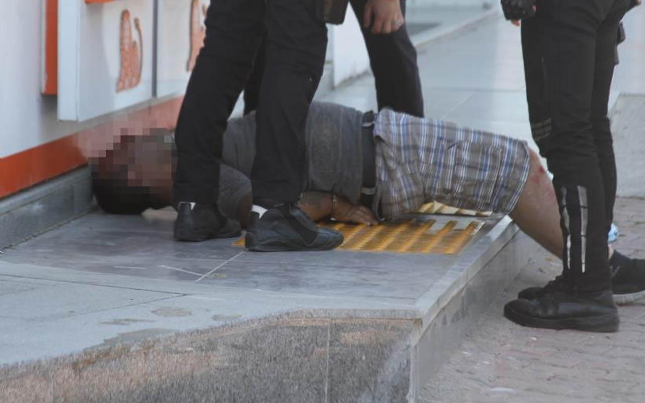 Antalya'da kısıtlamayı ihlal eden sürücü, polisin üzerine yürüdü: Savcı akrabam var