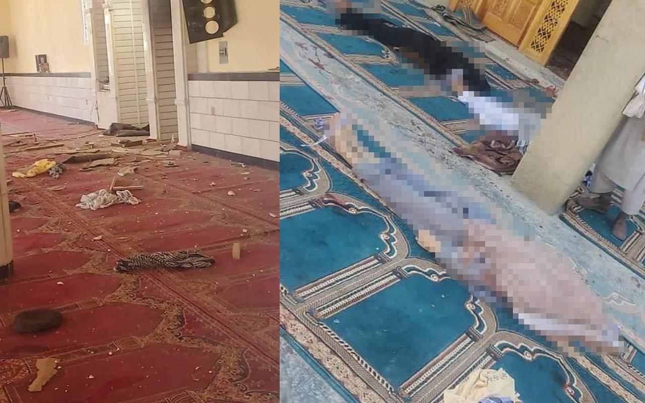 Afganistan'da Cuma namazı vakti camiye bombalı saldırı! 12 kişi hayatını kaybetti