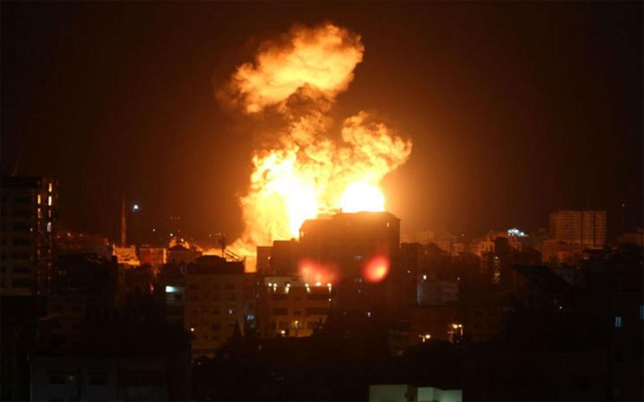 İsrail Gazze'ye saldırısını sürdürüyor! Ölenlerin sayısı hızla artıyor aileler okullara sığındı
