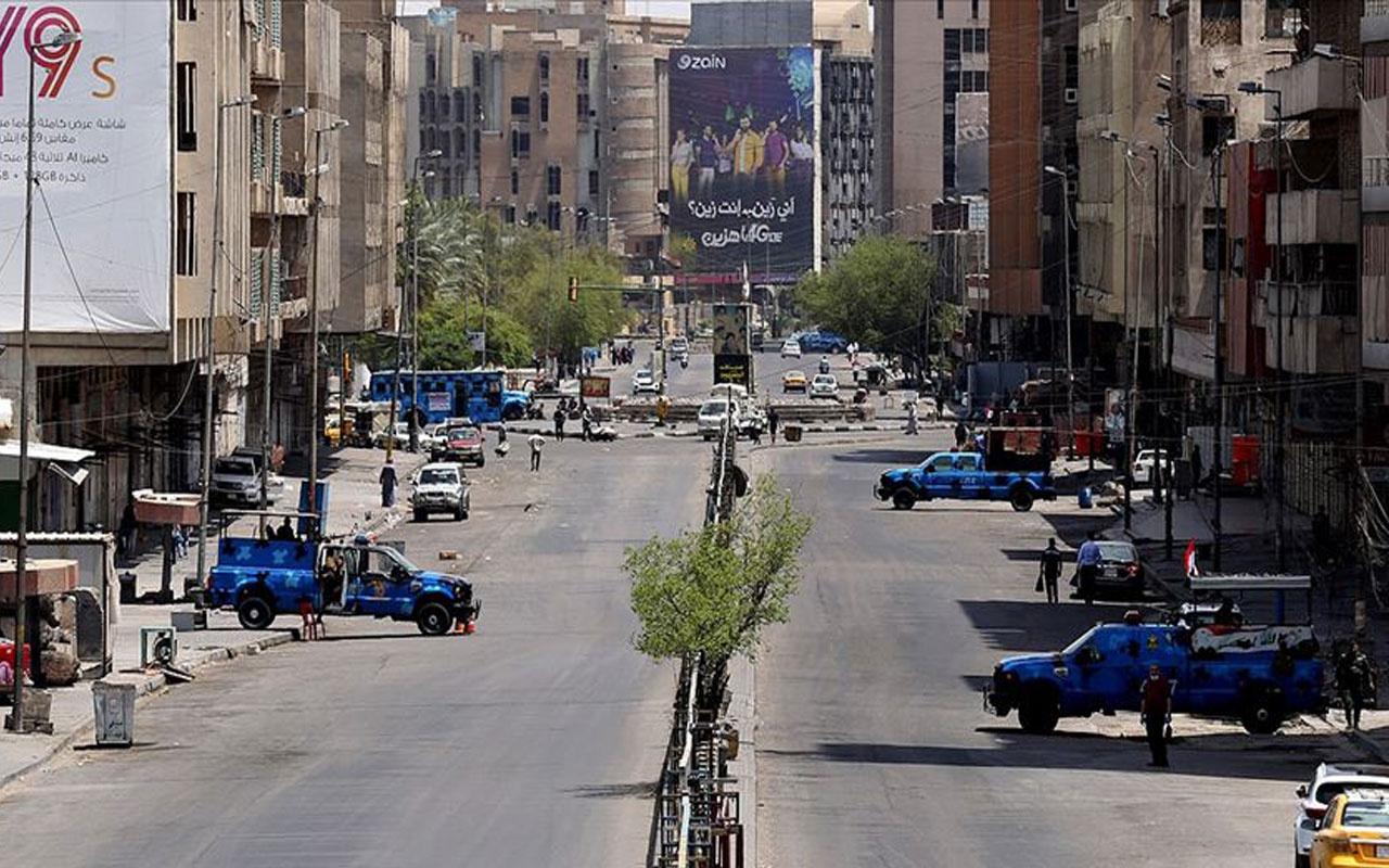 Irak'ta flaş karar! Kovid-19 nedeniyle ilan edilen kapsamlı sokağa çıkma yasağı iptal edildi