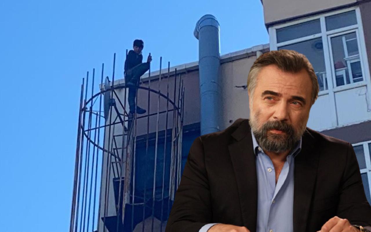 Beşiktaş'ta intihara kalkışan kişiden ilginç istek: Oktay Kaynarca'yı çağırın