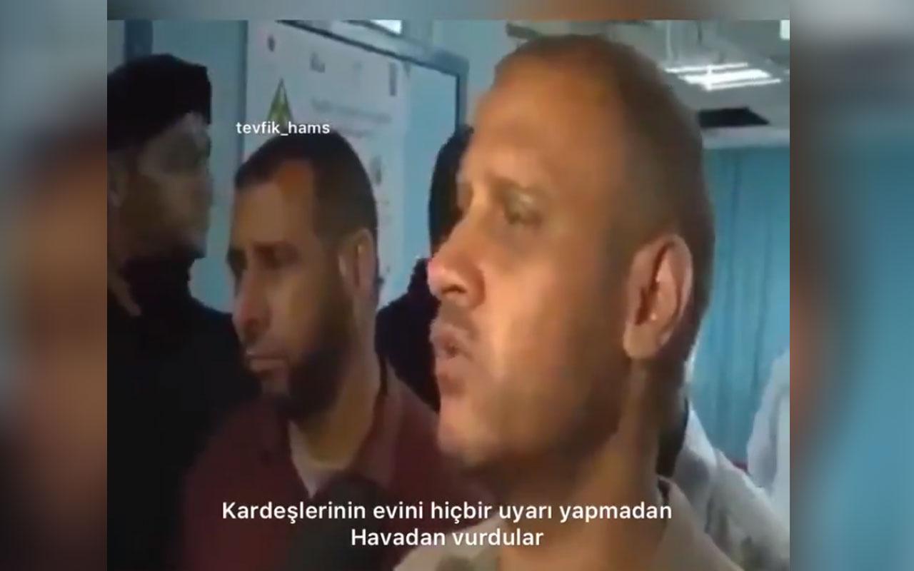 Filistinli babadan ağlatan şehit sözleri!