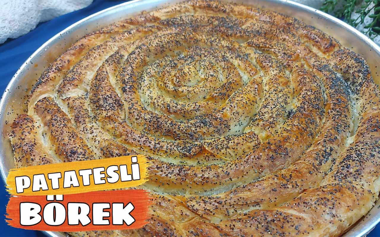 Patatesli börek nasıl yapılır çıtır çıtır lezzet!