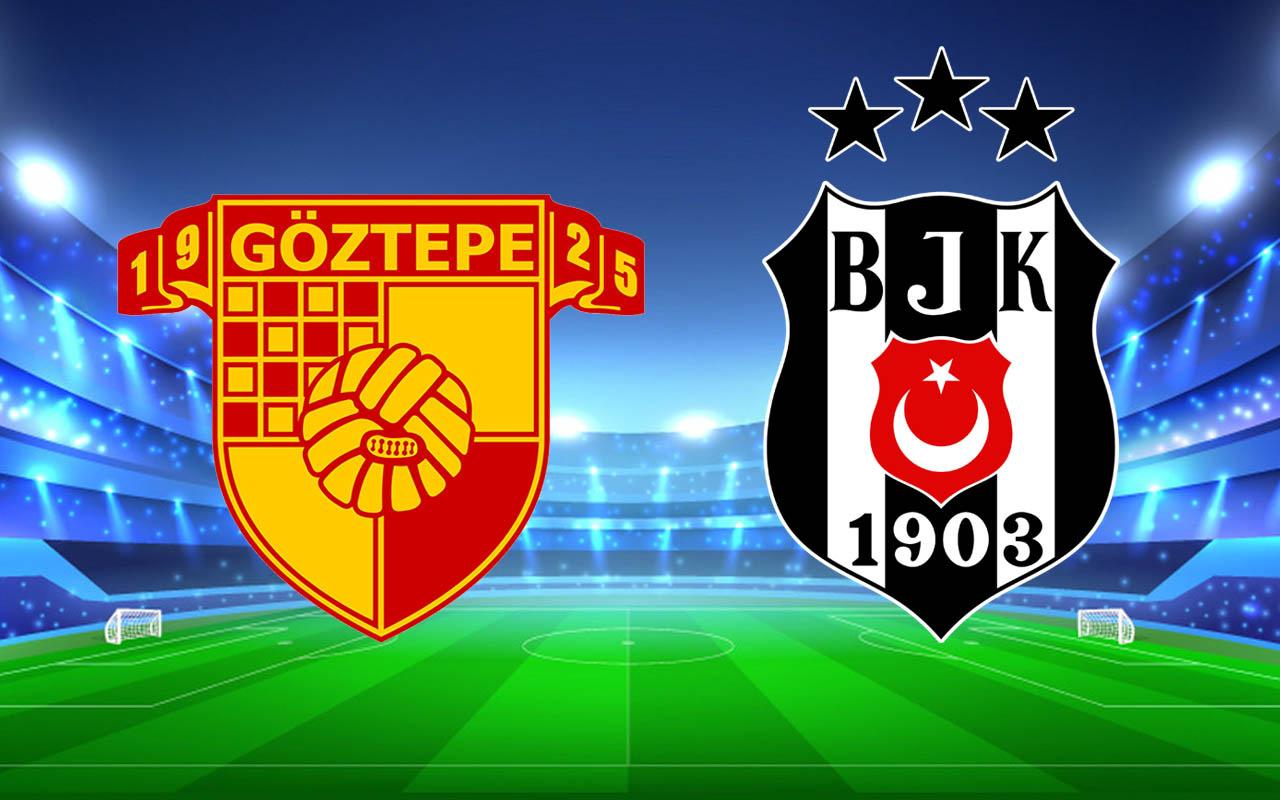 Göztepe- Beşiktaş Süper Lig şampiyonluk maçı (11'ler)
