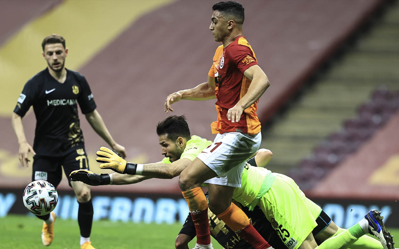 Galatasaray-Yeni Malatyaspor Süper Lig maç sonucu: 3-1