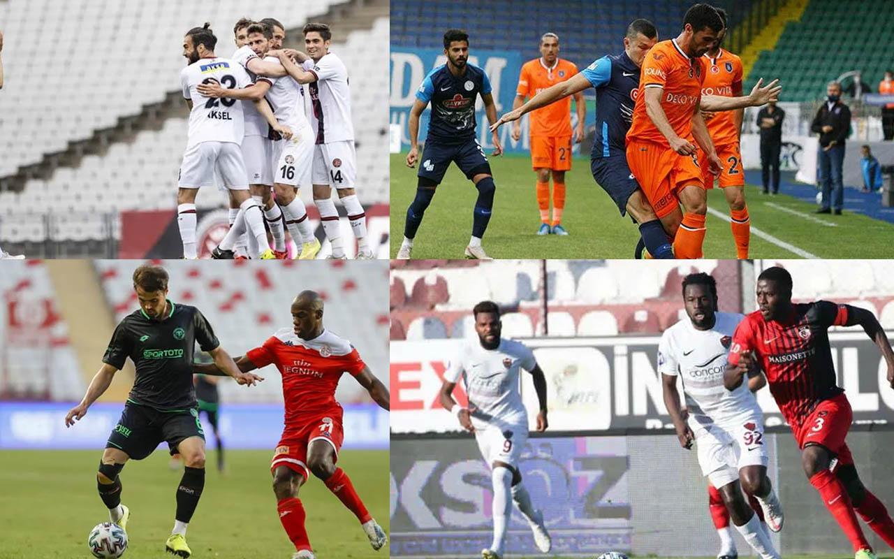 Süper Lig'de son hafta maçlarından bazıları tamamlandı Sivasspor 5'inci bitirdi