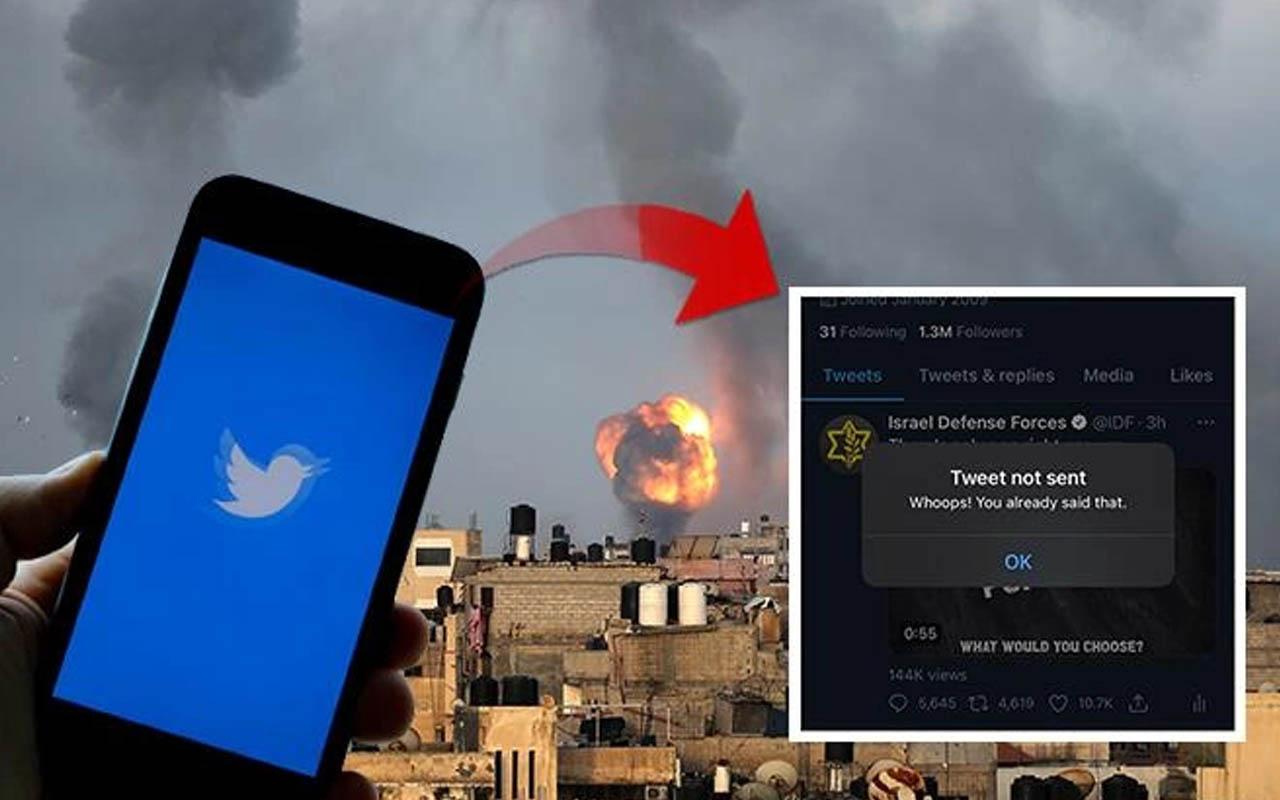 Twitter'ın kurallarına takılan İsrail çıldırdı! Tepki mesajı yayımladılar