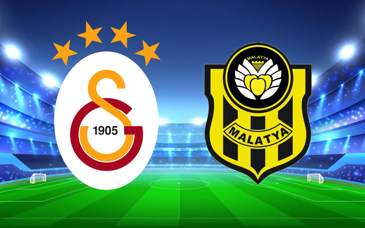 Galatasaray-Yeni Malatyaspor Süper Lig şampiyonluk maçı (11'ler)