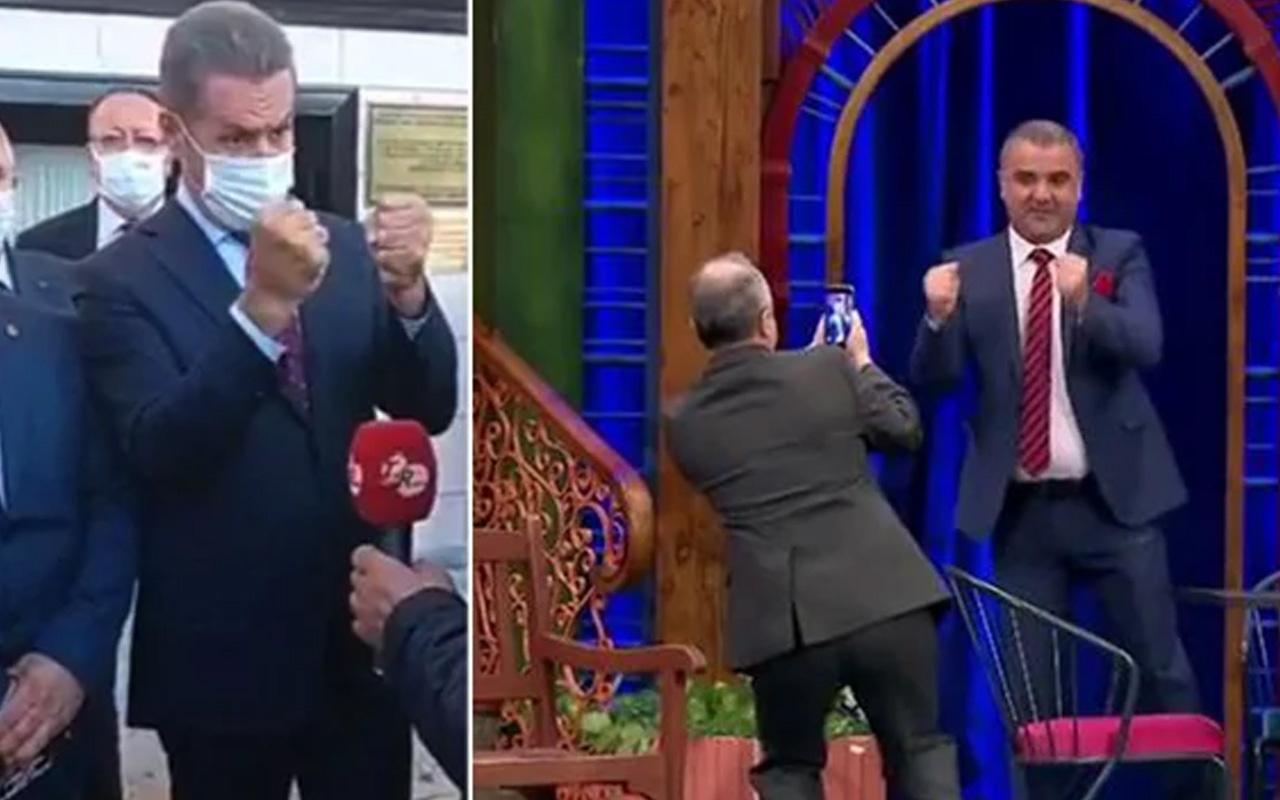 Güldür Güldür Show'da Mustafa Sarıgül taklidi olay oldu! İzleyenler kahkahaya boğuldu