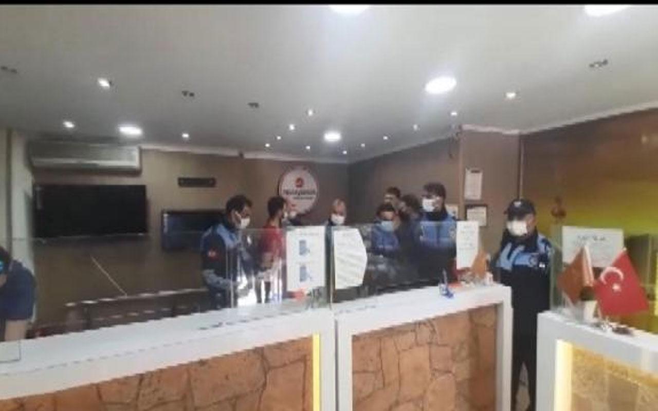 Esenyurt'ta açık olduğu tespit edilen para transfer merkezi mühürlendi
