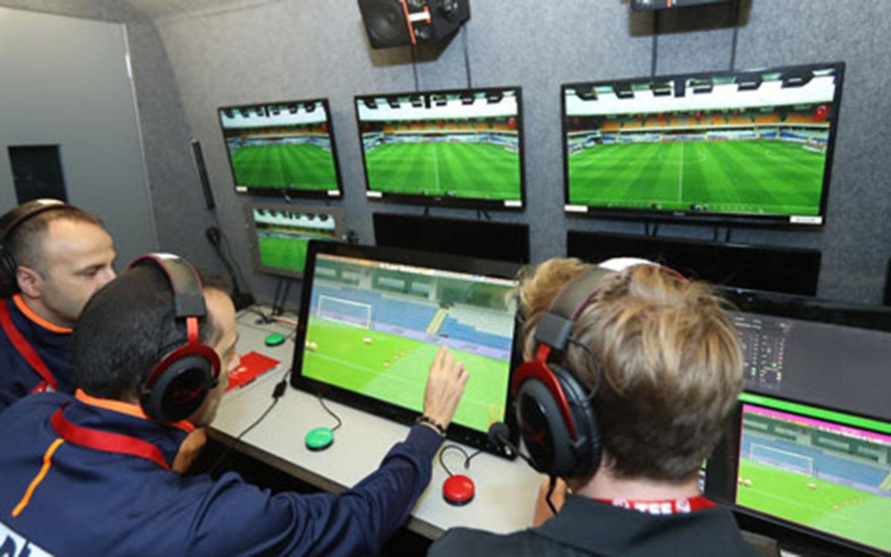 Süper Lig'de şampiyonluk yarışını ilgilendiren 3 maçınVARhakemi açıklandı