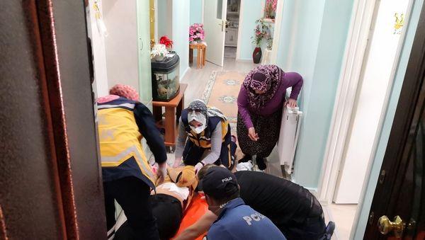 Aksaray'da çığlıkları duyanlar şok oldu dehşet saçtı savunması şok etti