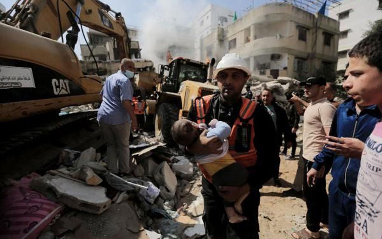 Gazze'ye en ağır saldırı! Bir günde 33 kişi hayatını kaybetti