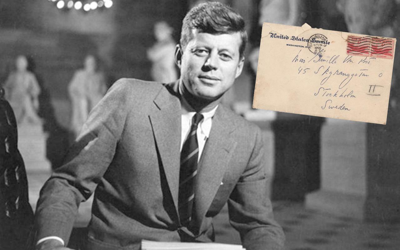 ABD eski başkanı Kennedy'nin 'hayatımın parlak bir anısı' 743 bin TL'ye satıldı! Geçen yaz seninle...