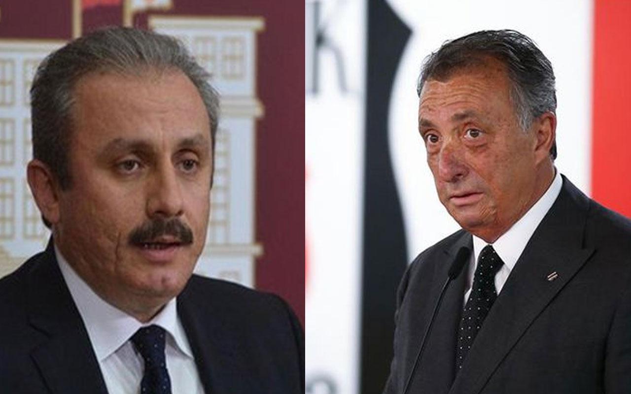 TBMM Başkanı Mustafa Şentop'tan Ahmet Nur Çebi'ye tebrik telefonu