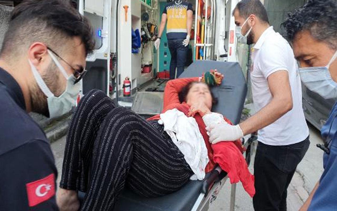 Adana'da feci olay! Tartıştığı annesine ekmek bıçağıyla saldırdı