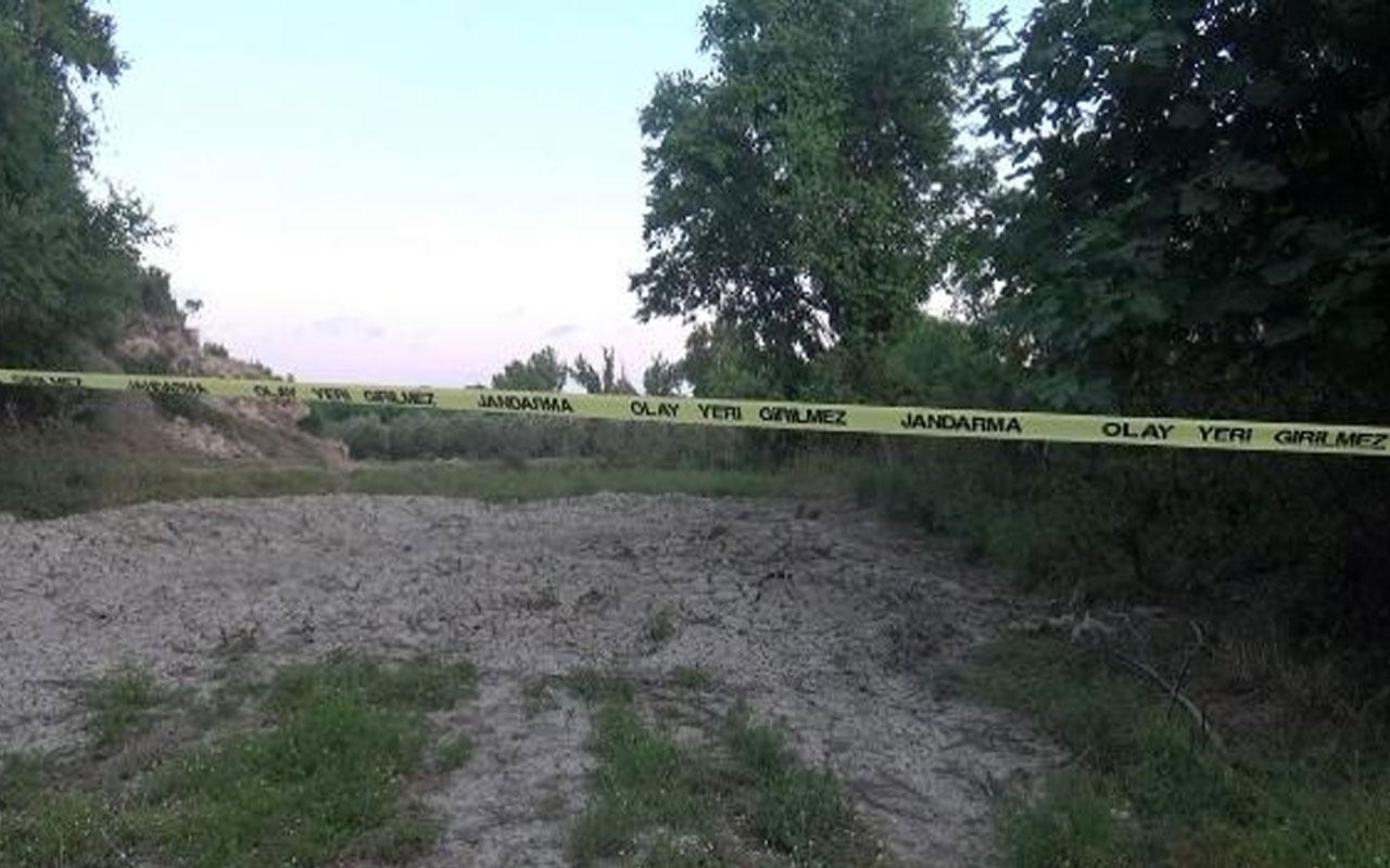 Olay yeri Antalya! Sulama kanalına dökülen balçıktan insan kafatası çıktı