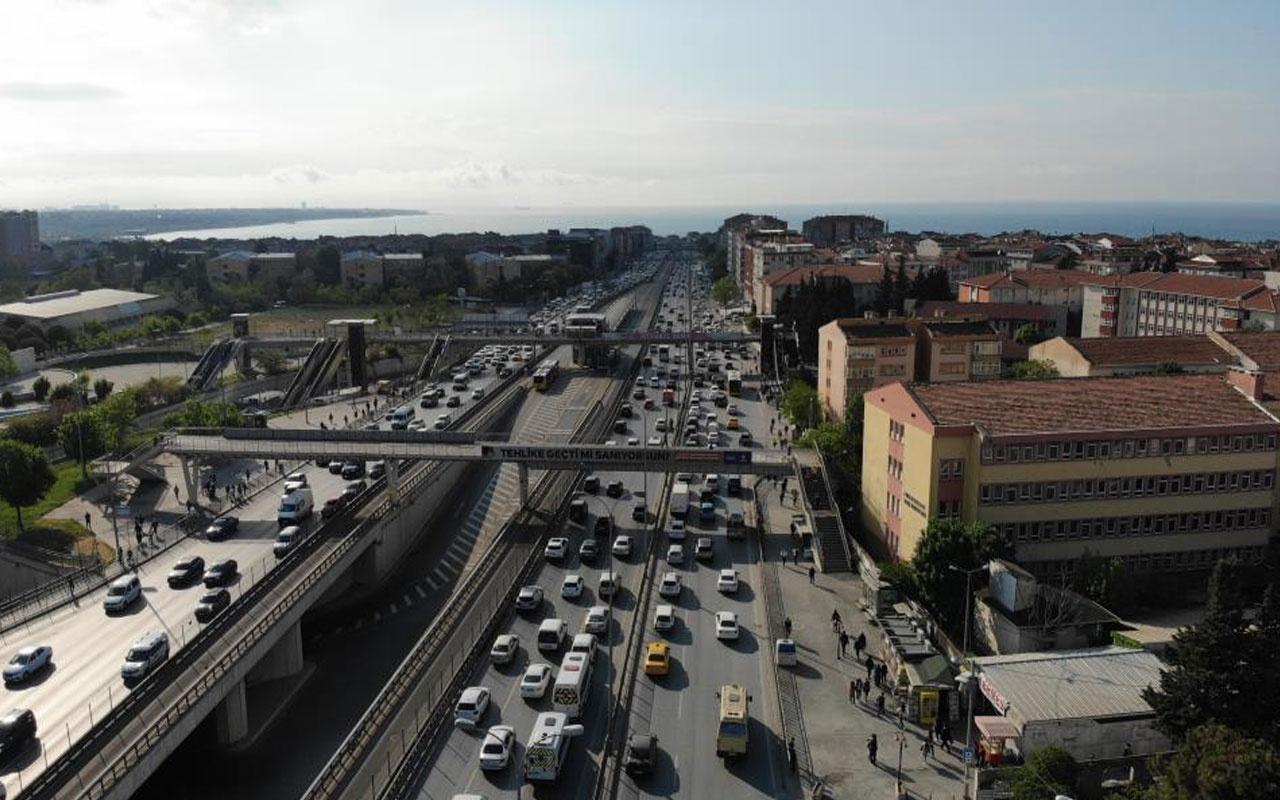 Yola çıkacaklar dikkat! Tam kapanma sonrası İstanbul'da trafik yoğunluğu