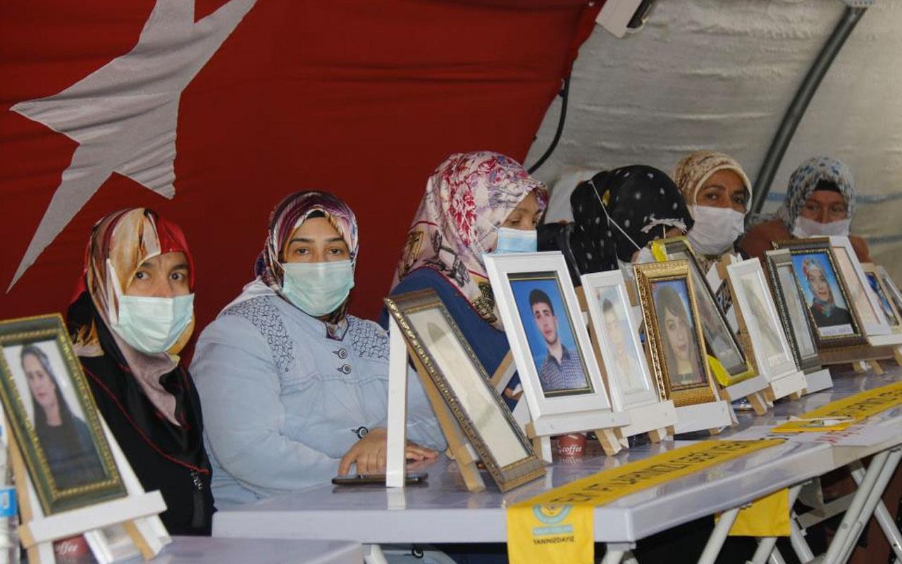 Kısıtlamalar kalktı evlat nöbetindeki aileler HDP önündeki çadıra koştu