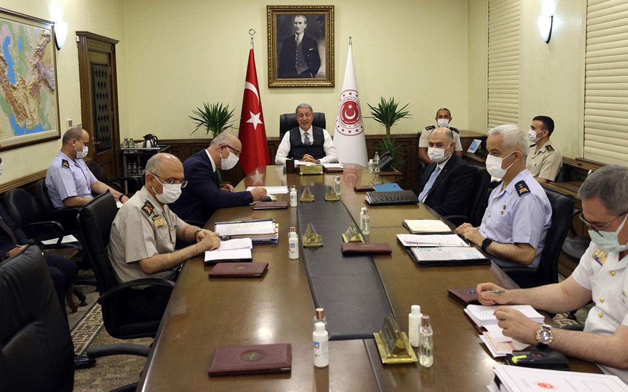 Milli Savunma Bakanı Hususi Akar açıkladı terör örgütü PKK'ya ağır darbe