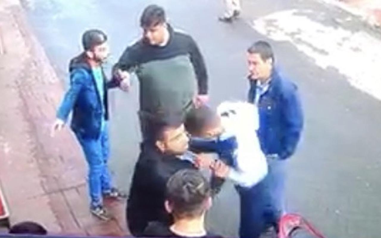 İstanbul'da kafa atan kişiye kurşun yağdırdı! Görüntüler ortaya çıktı
