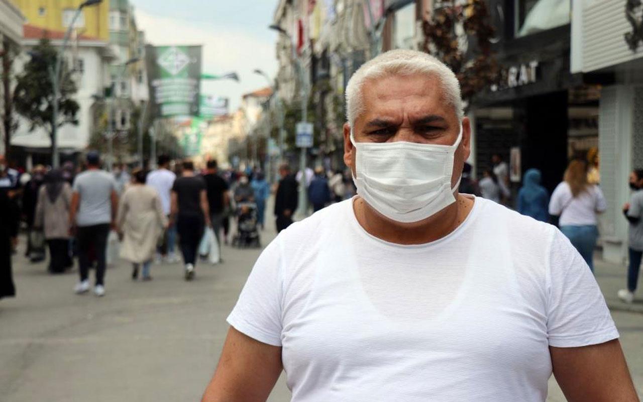 Sakarya'da koronayı atlattı caddeki kalabalığı görünce isyan etti: İnsanlar bazen ölümü hakkediyor