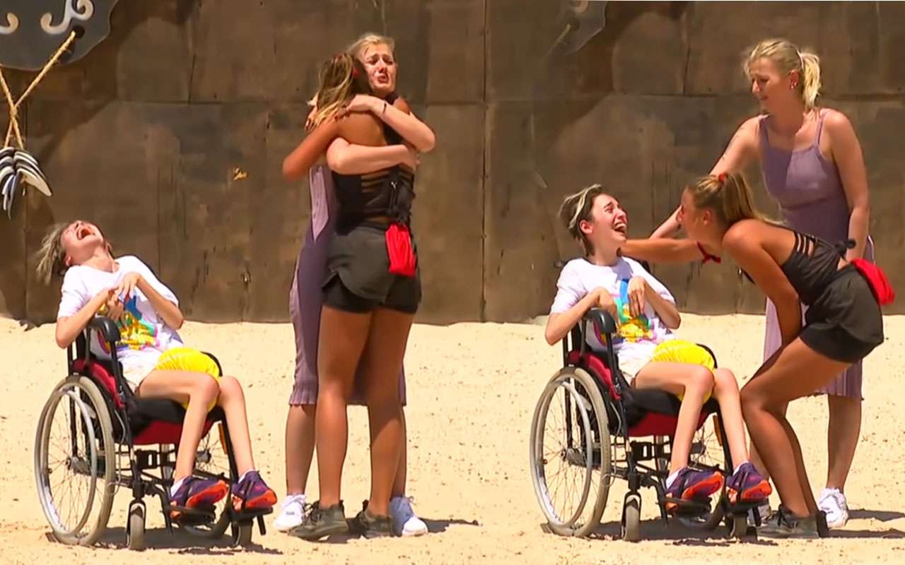 Survivor'da Aleyna Kalaycıoğlu'nun engelli kardeşi için Acun Ilıcalı bakın ne yaptı