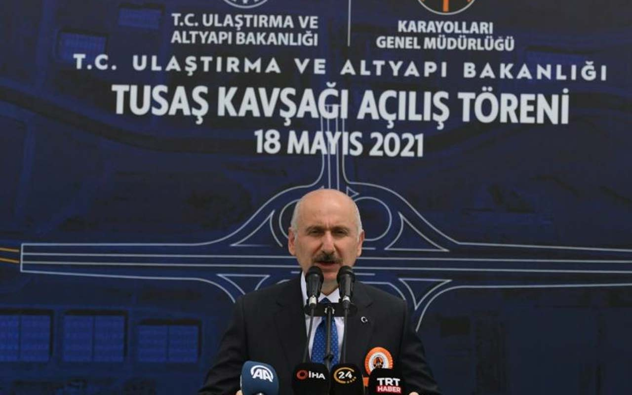 Ulaştırma ve Altyapı Bakanı Adil Karaismailoğlu: Yakıttan 546 milyon dolar tasarruf sağladık
