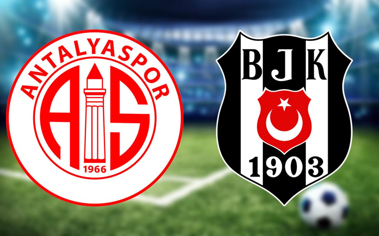 Antalyaspor Beşiktaş Türkiye Kupası final maçında ilk 11'ler belli oldu