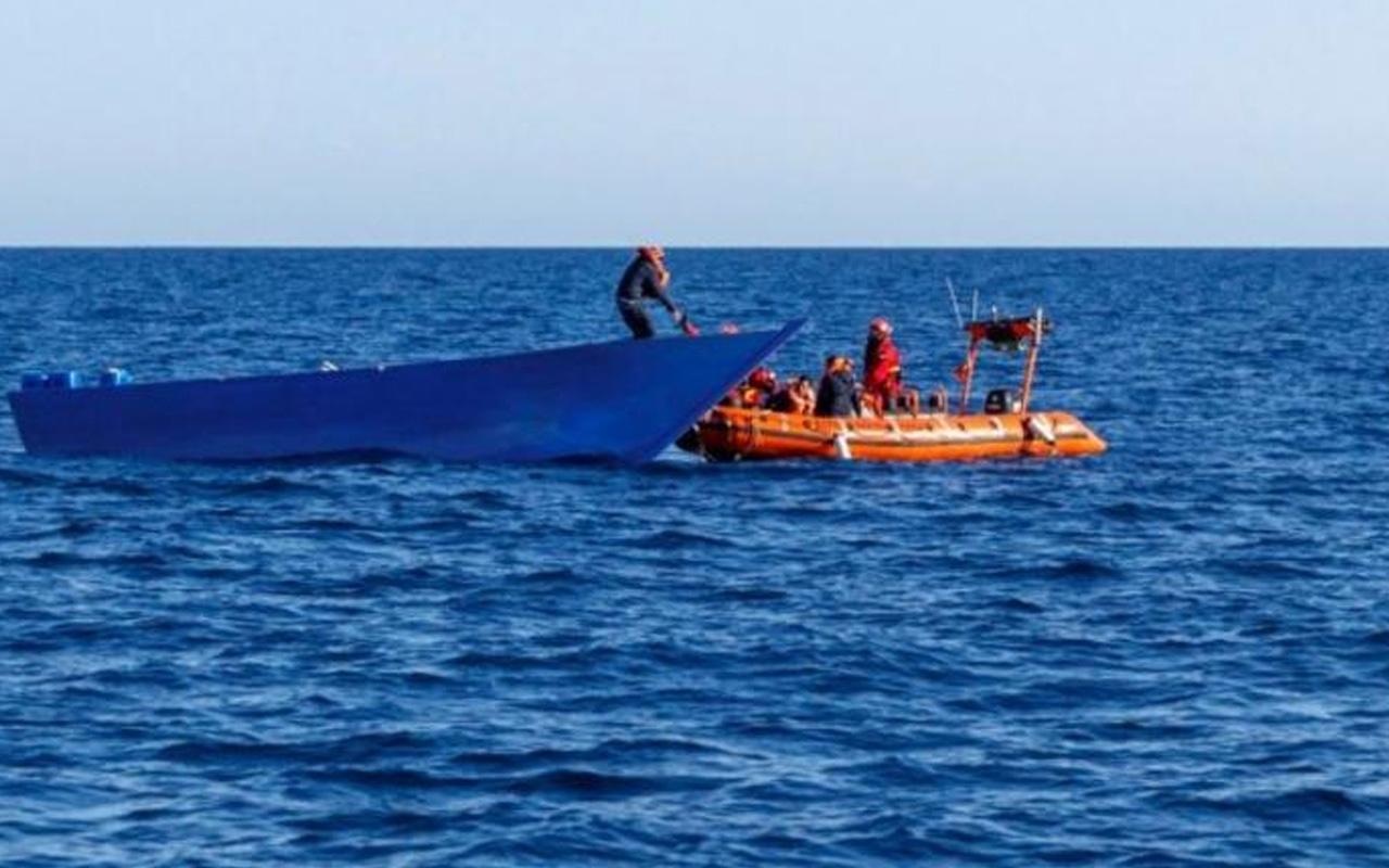 Tunus açıklarında tekne battı! 50'den fazla göçmen kayıp