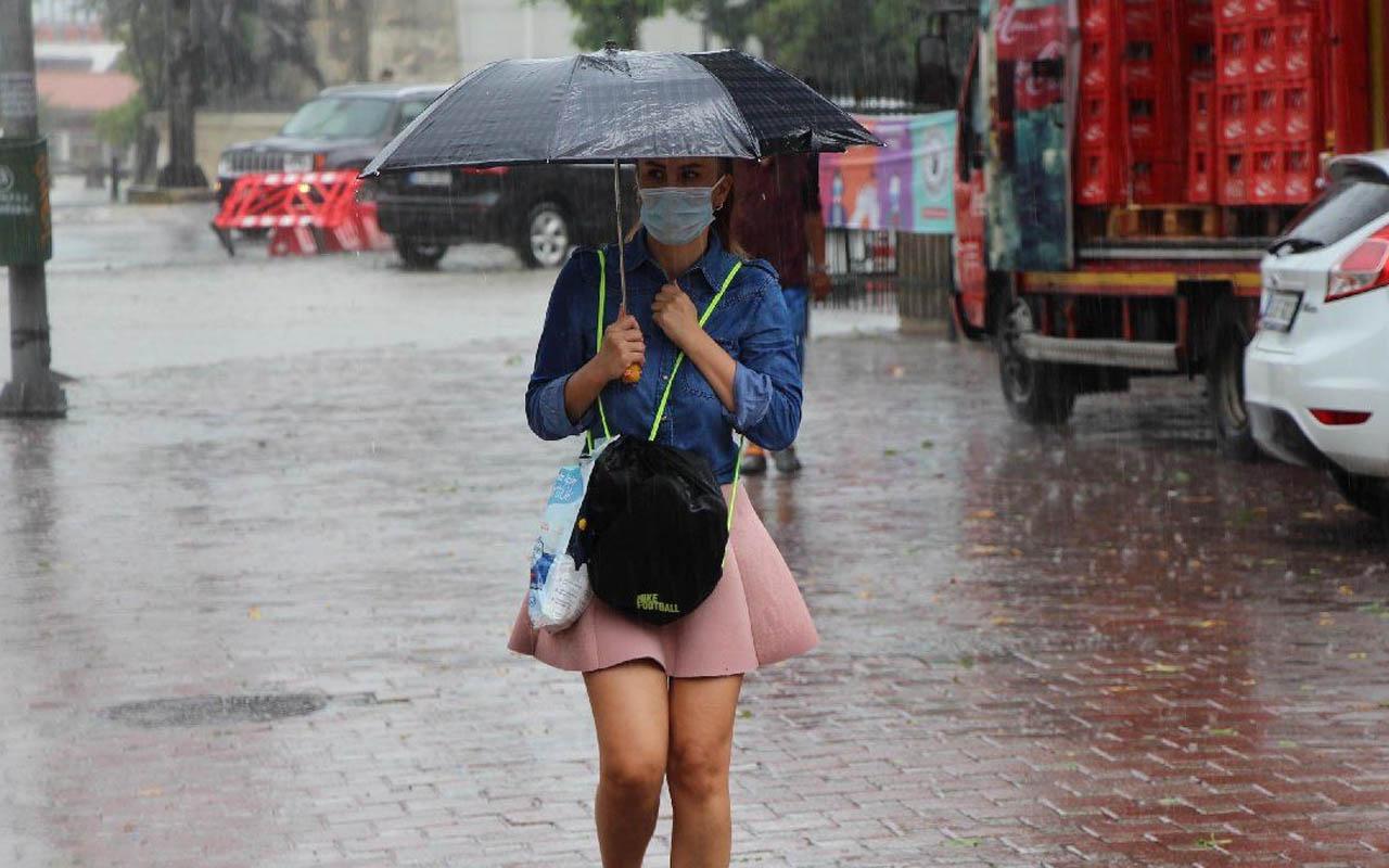 İstanbul da listede hava sıcaklığı artıyor ama! Meteoroloji kritik uyarı yaptı: Sağanak yolda