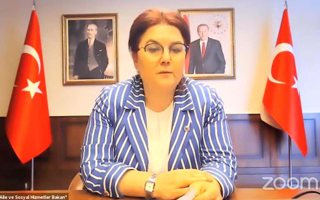 AİLE ve Sosyal Hizmetler Bakanı Derya Yanık: Dünya susabilir ama Türkiye susmayacak