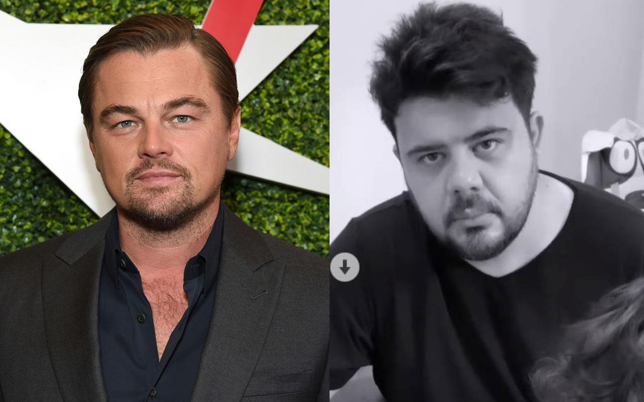 Eser Yenenler'in oğlu Leonardo DiCaprio'yu babası zannedince bakın neler oldu