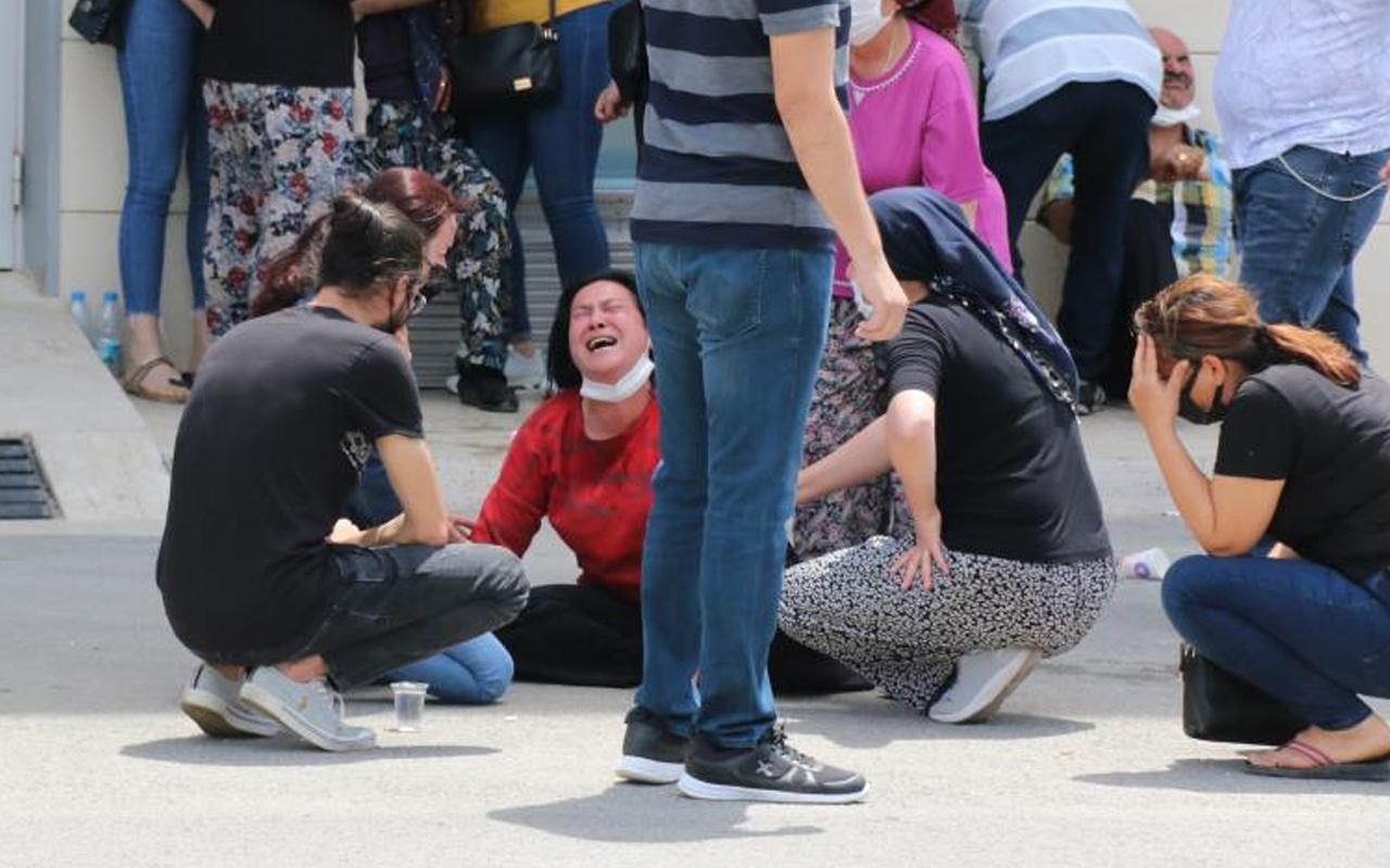 Antalya'da morg önünde annenin en zor anı: 21 yaşındaki ölen kızı için kahroldu