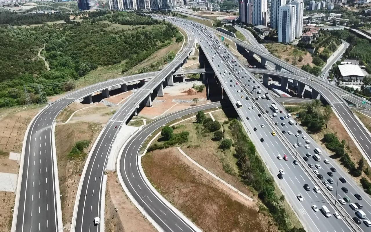Kuzey Marmara Otoyolu Projesi'nin son bölümü de tamamlandı