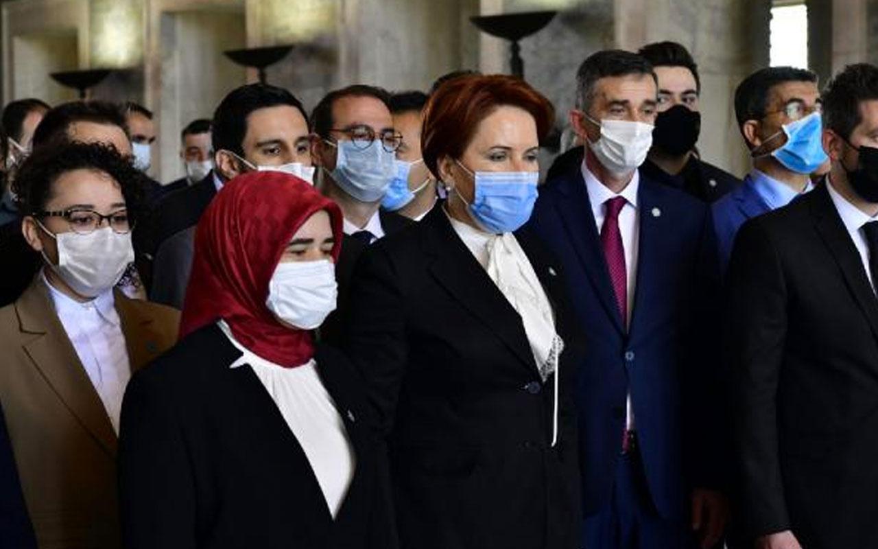 İYİ Parti Lideri Meral Akşener, Anıtkabir'i ziyaret etti