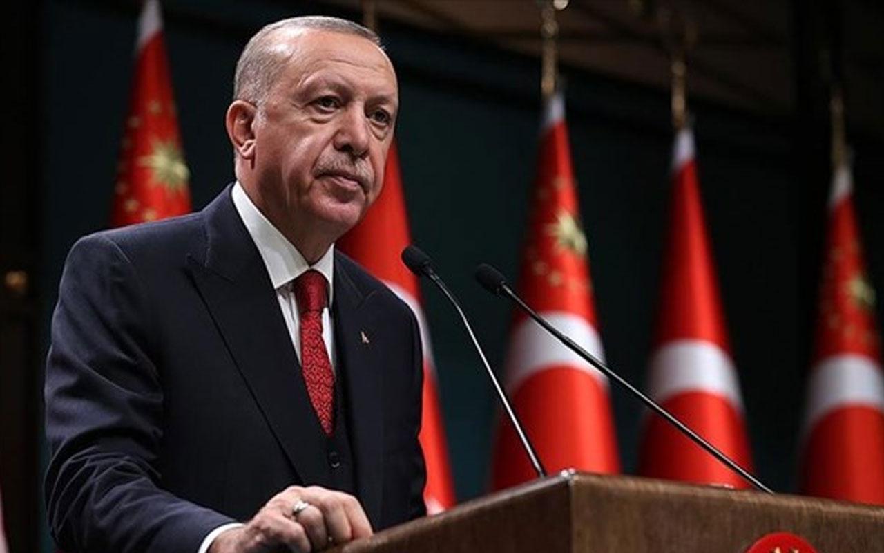 Cumhurbaşkanı Erdoğan'dan Mülteciler Günü'nde Filistin ve Suriye mesajı