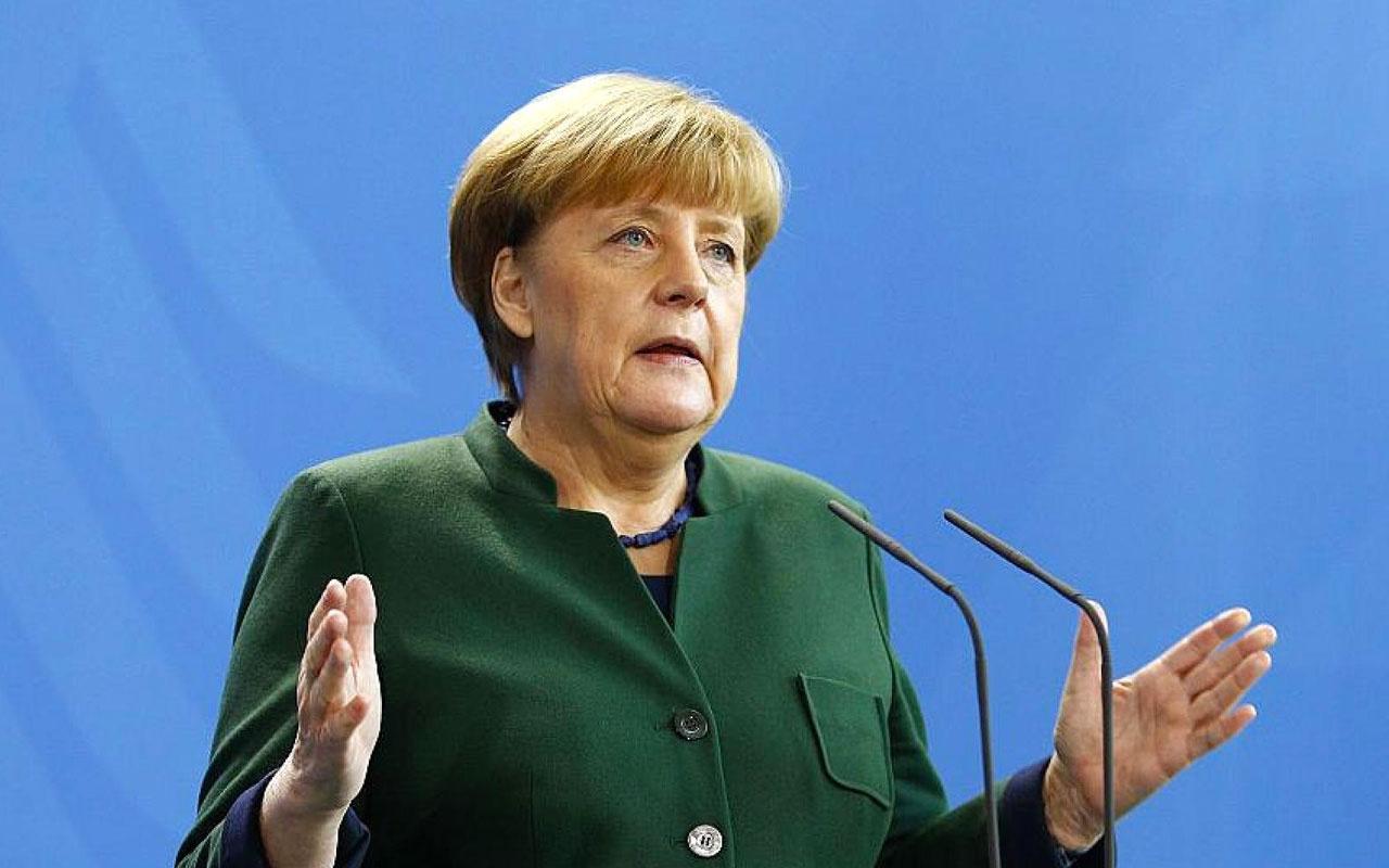 Almanya Başbakanı Angela Merkel'den İsrail'a tam destek! Meşru müdafaa hakkıymış