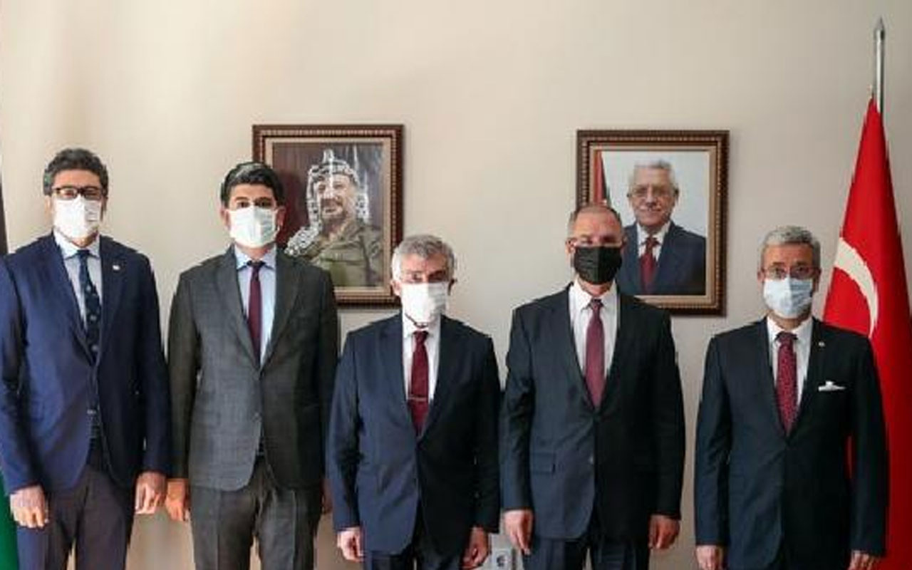 CHP'den Filistin Büyükelçiliği'ne taziye ziyareti