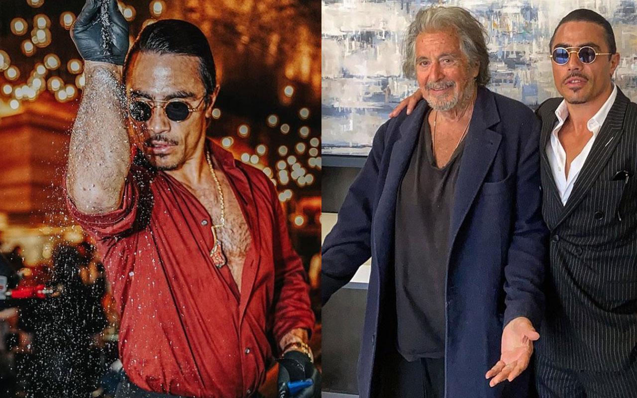 Nusret Gökçe hayalini gerçekleştirdi mafya filmi yıldızı Al Pacino'yla beraber...