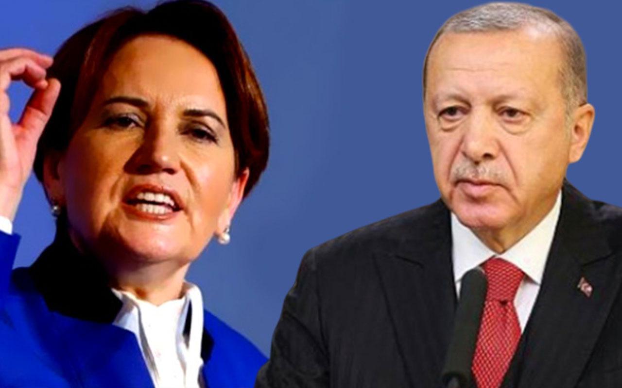 Meral Akşener'den Erdoğan'a 'zavallı' tepkisi: Zavallılık, gideceğim deyip gitmemektir