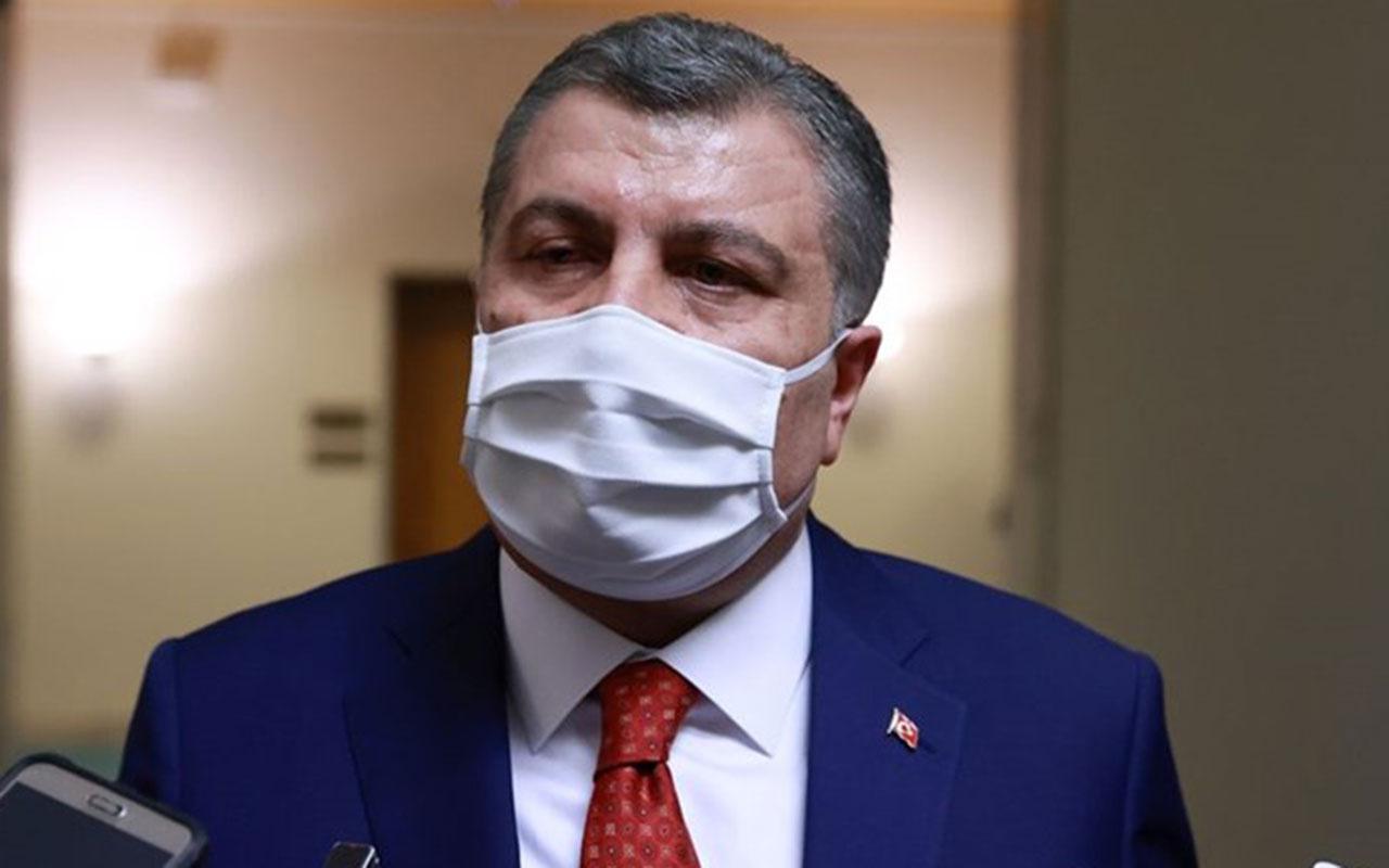 Sağlık Bakanı Fahrettin Koca: Sokakta yalnızken maske takmayın!