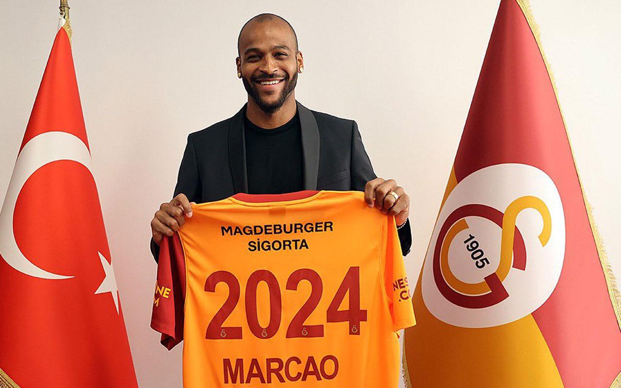 Galatasaray Marcao'yu resmen duyurdu