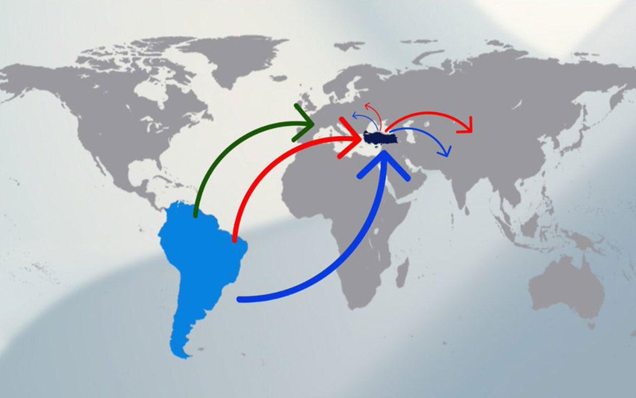 Emniyet, kokainin yeni rotasını açıkladı! Güney Amerika'dan Türkiye'ye...
