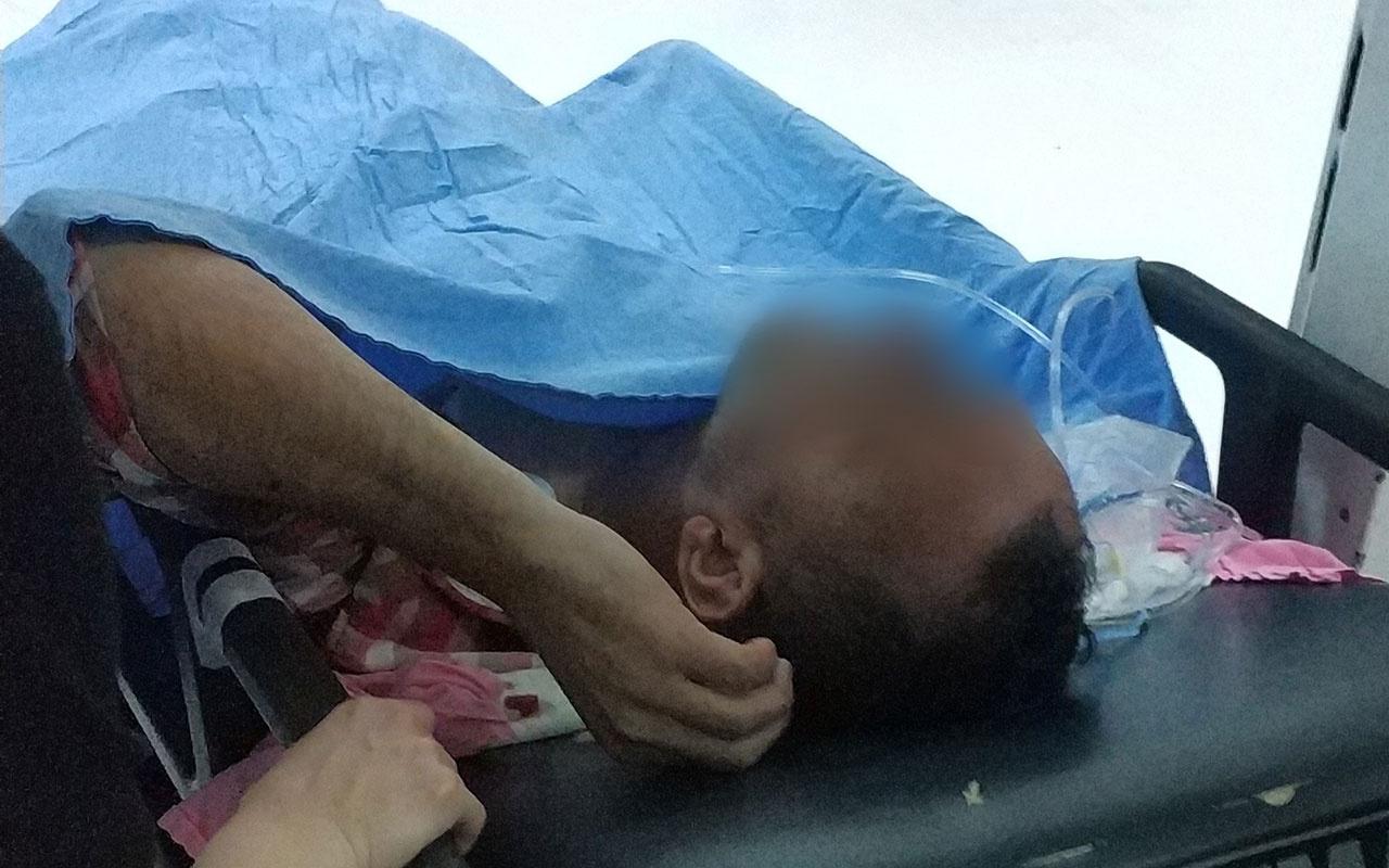 Samsun'da birlikte yaşadığı kadın bıçakladı! Göğsünde bıçakla hastaneye geldi