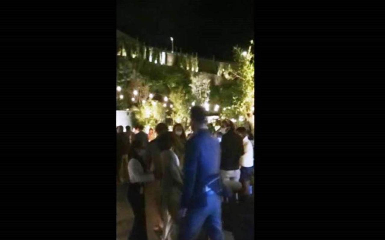 Bodrum'da 130 kişi maskesiz mesafesiz eğlendi! Otele baskın yapan ekipler şoke oldu
