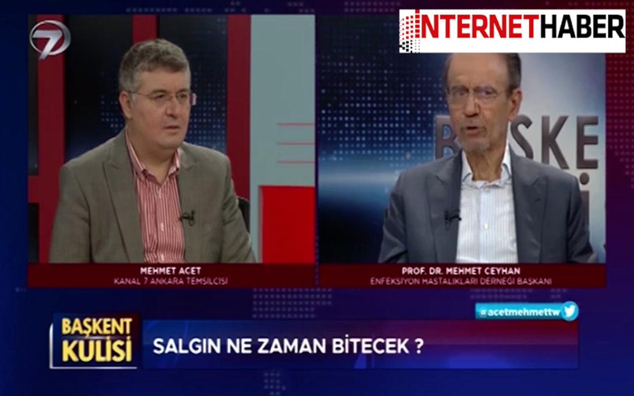 Prof. Dr. Mehmet Ceyhan müjdeli açıklamalar! Canlı yayında tarih verdi: Biz kurtulacağız