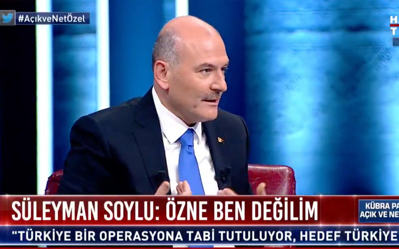 Süleyman Soylu Sedat Peker'in tecavüz dosyası olduğunu açıkladı