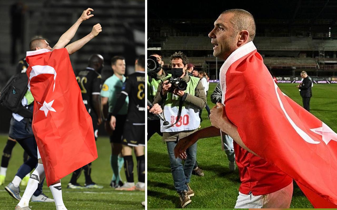 Fransa Ligue 1'de skandal karar! Burak Yılmaz: Anneciğim bak şampiyon olduk