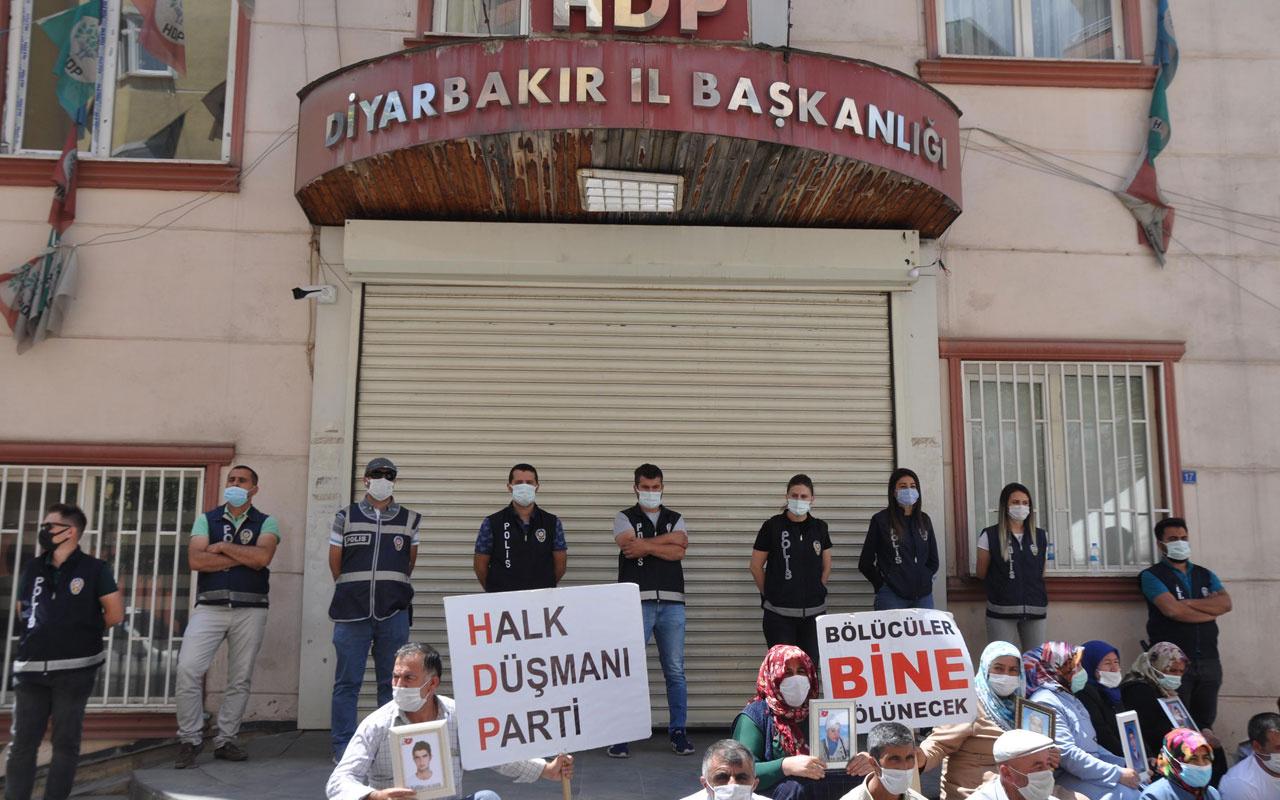 Evlat nöbetindeki baba: Artık herkes HDP'nin iç yüzünü görsün